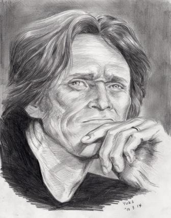 Willem Dafoe by Yuki